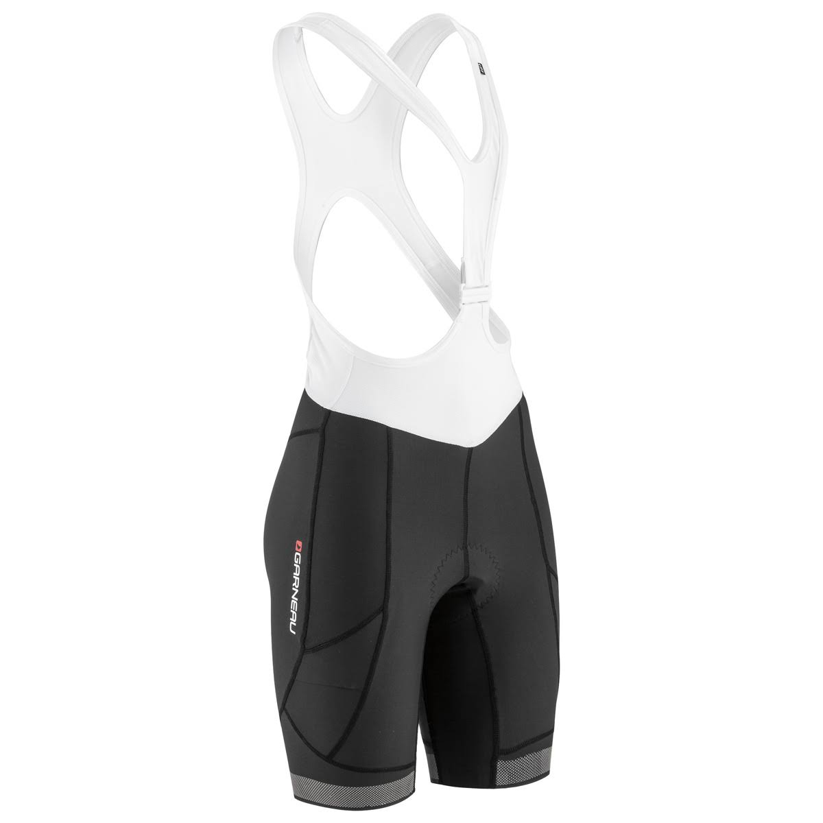 Louis Garneau Cb Neo Power Rtr Bib Short - Black/White, Large