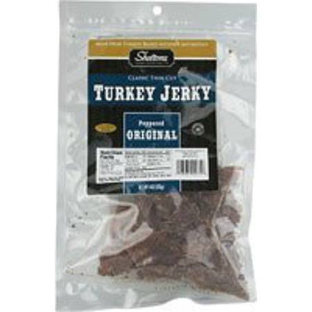 Shelton's Turkey Jerky Peppered Original - 4 oz