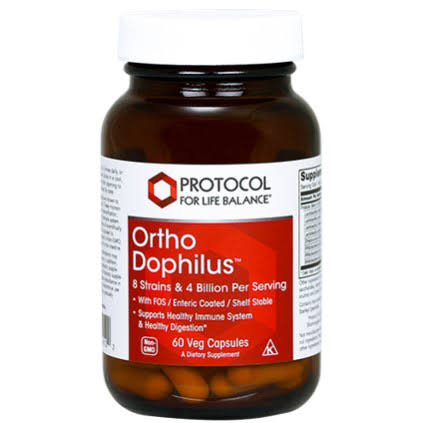 Protocol for Life Balance Ortho Dophilus Supplement - 60 Vcaps