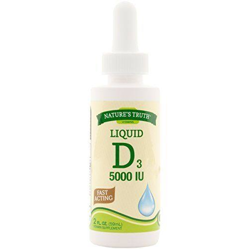 Natures Truth Vitamin D Liquid - 2fl oz