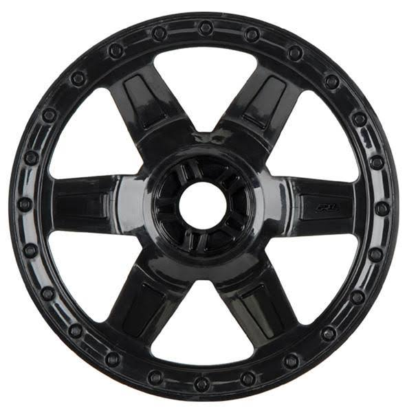 Pro-Line Racing 273303 Desperado Wheels - 17mm, Black, 3.8 1/set