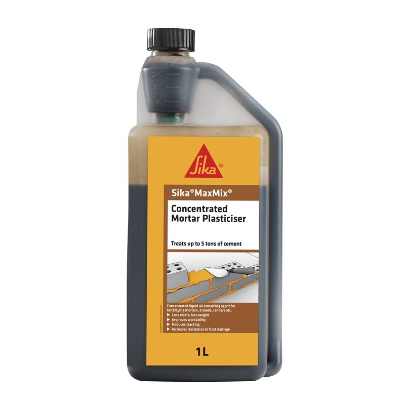 Sika Maxmix Concentrated Mortar Plasticiser 1 Litre