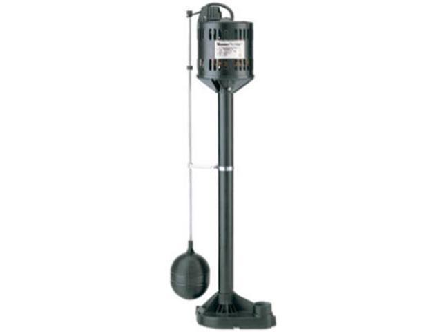 Pentair Water 540163 Automatic Pedestal Sump Pump - 1/3HP