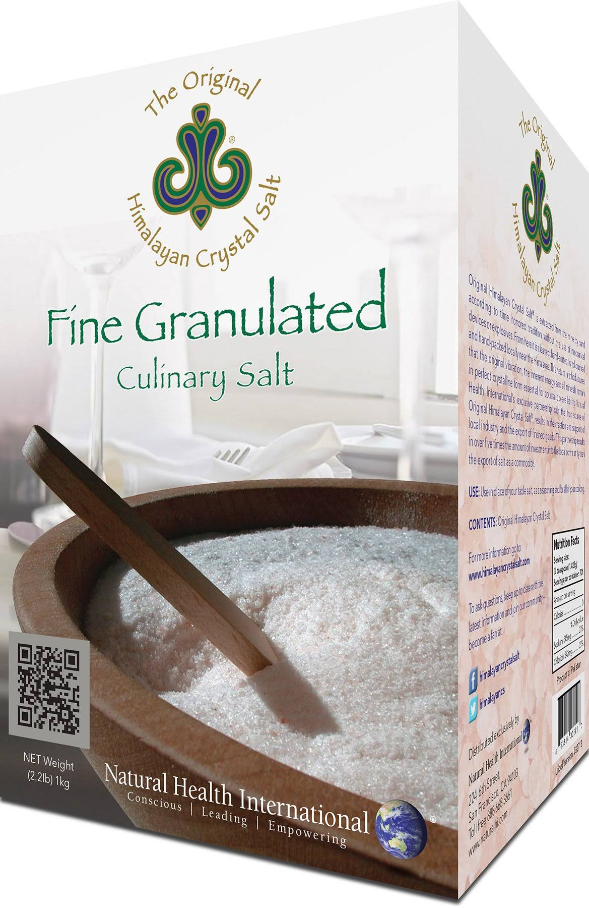 Original Himalayan Fine Granulated Crystal Salt