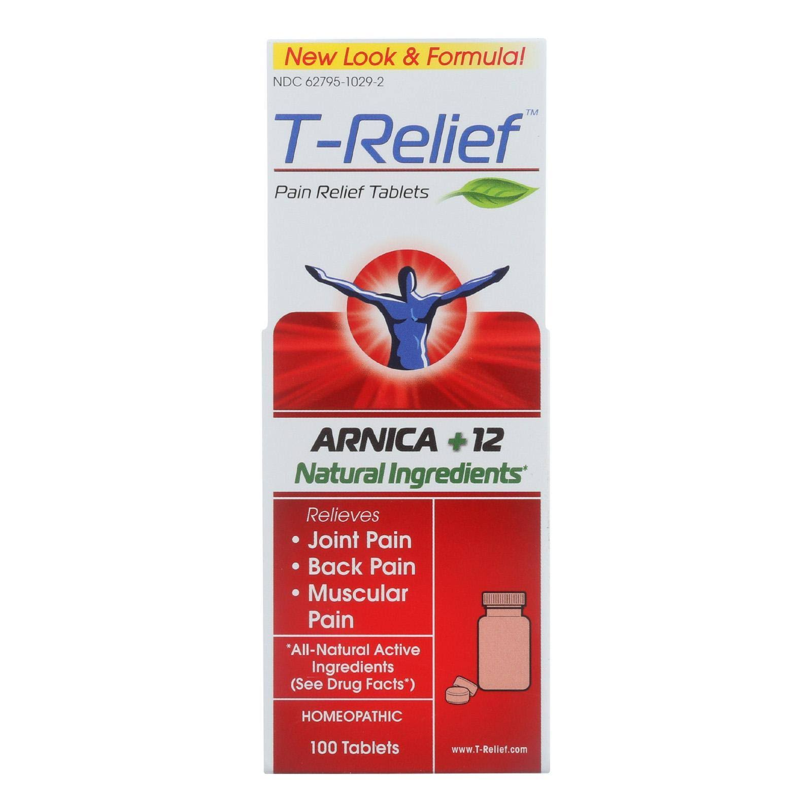 T Relief Pain Relief, Chewable Tablets - 100 tablets