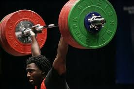 the power clean and press - lockout