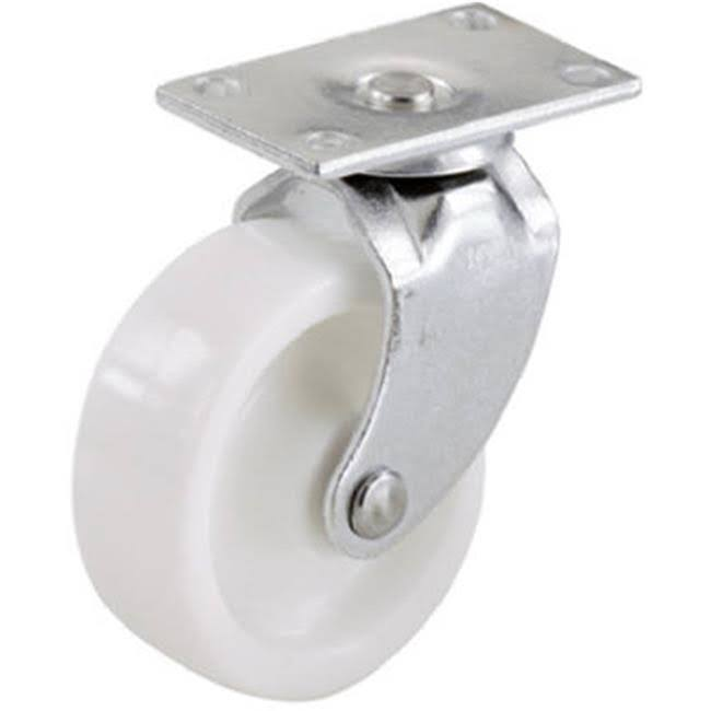 "Shepherd Hardware 19041 Casters - 2pk, 2"" Wheel, White"
