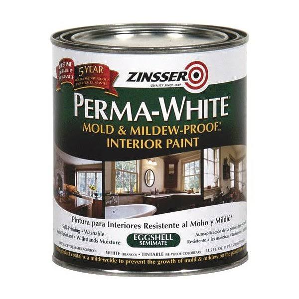 Zinsser Perma White Interior Bath Paint - 1 qt can