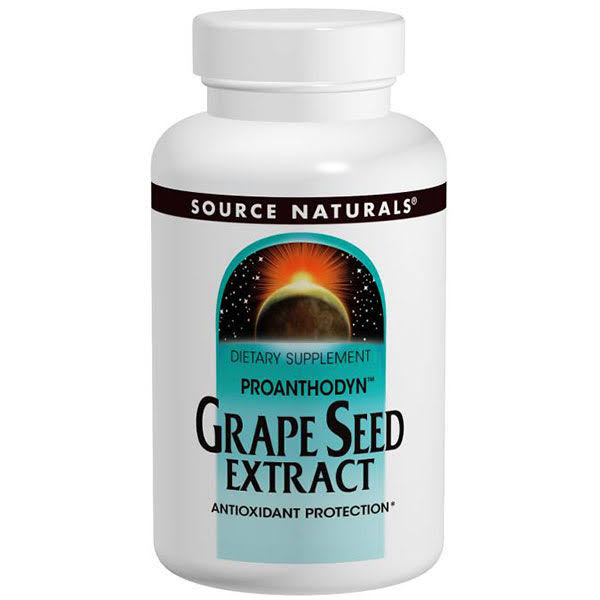 Source Naturals Grape Seed Extract Supplements - 60ct