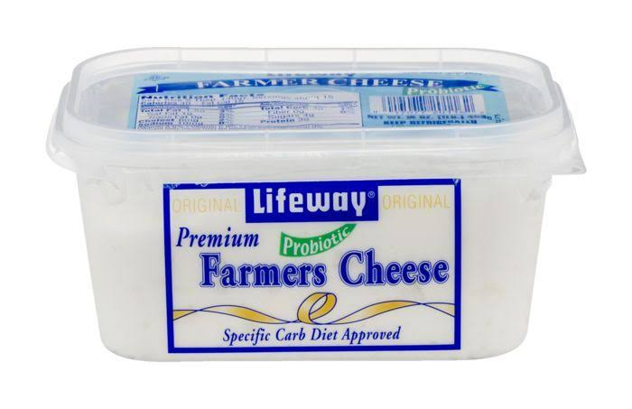 Lifeway Farmer Cheese, Unsweetened, Plain - 16 oz