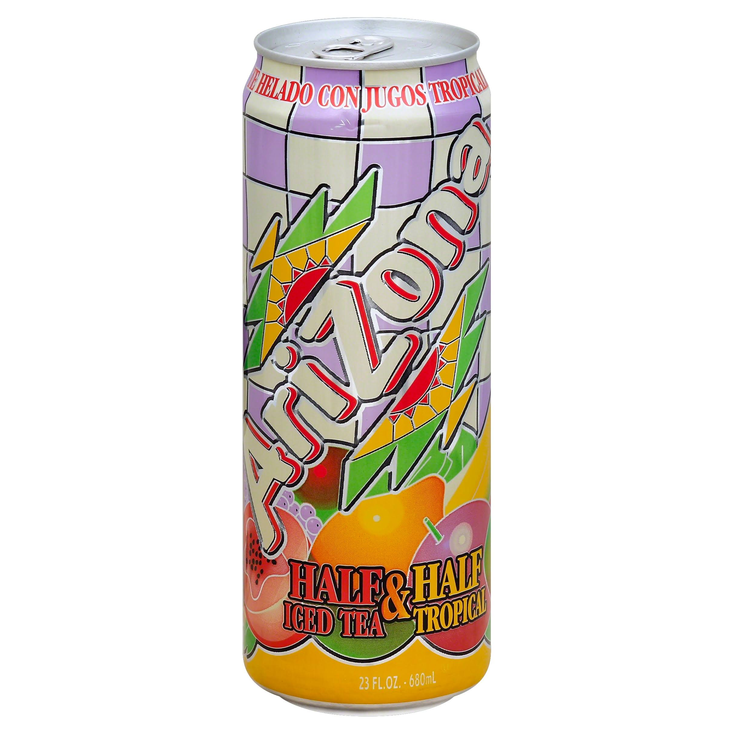 Arizona Half and Half Tropical Iced Tea - 23oz