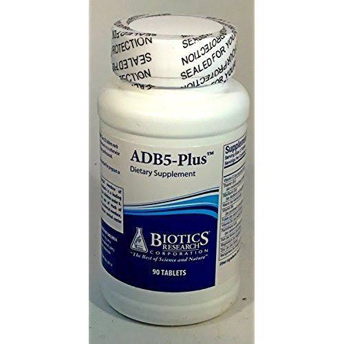 ADB5 Plus Adrenal Support supplement - 90 tablets