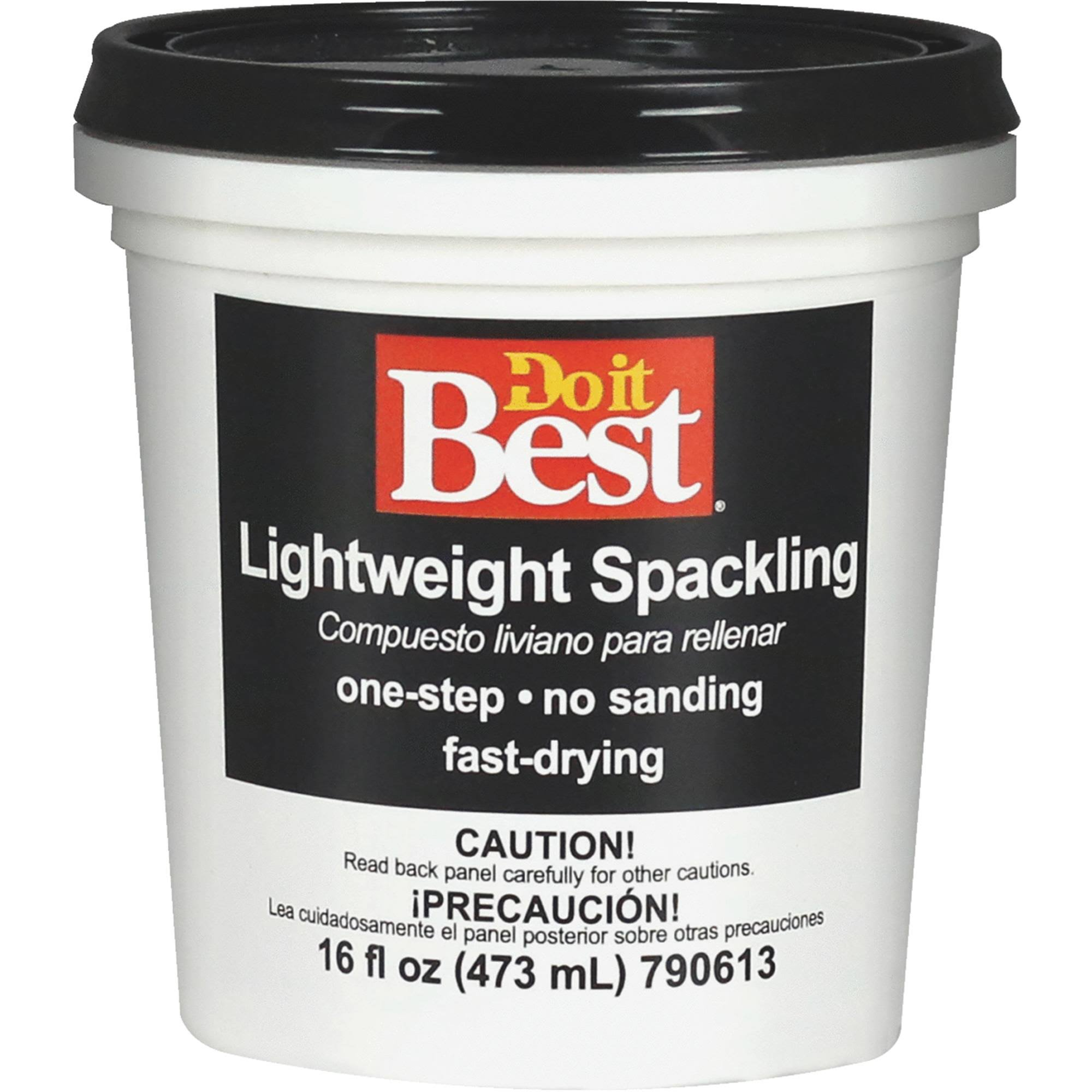 Do It Best Lightweight Spackling - 1 Pint
