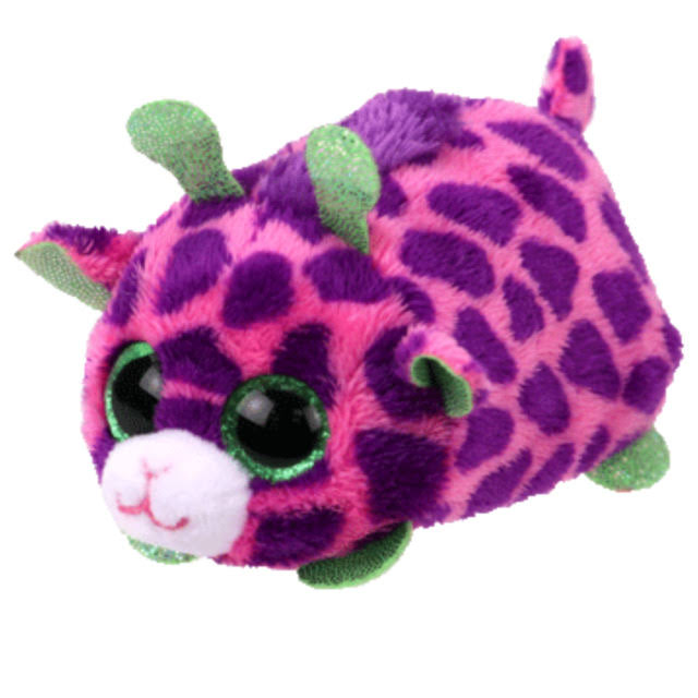 Ty Beanie Babies 41253 Teeny Toys - Ferris The Purple Giraffe
