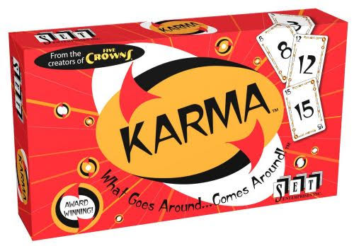 Set Enterprises Karma Card Game
