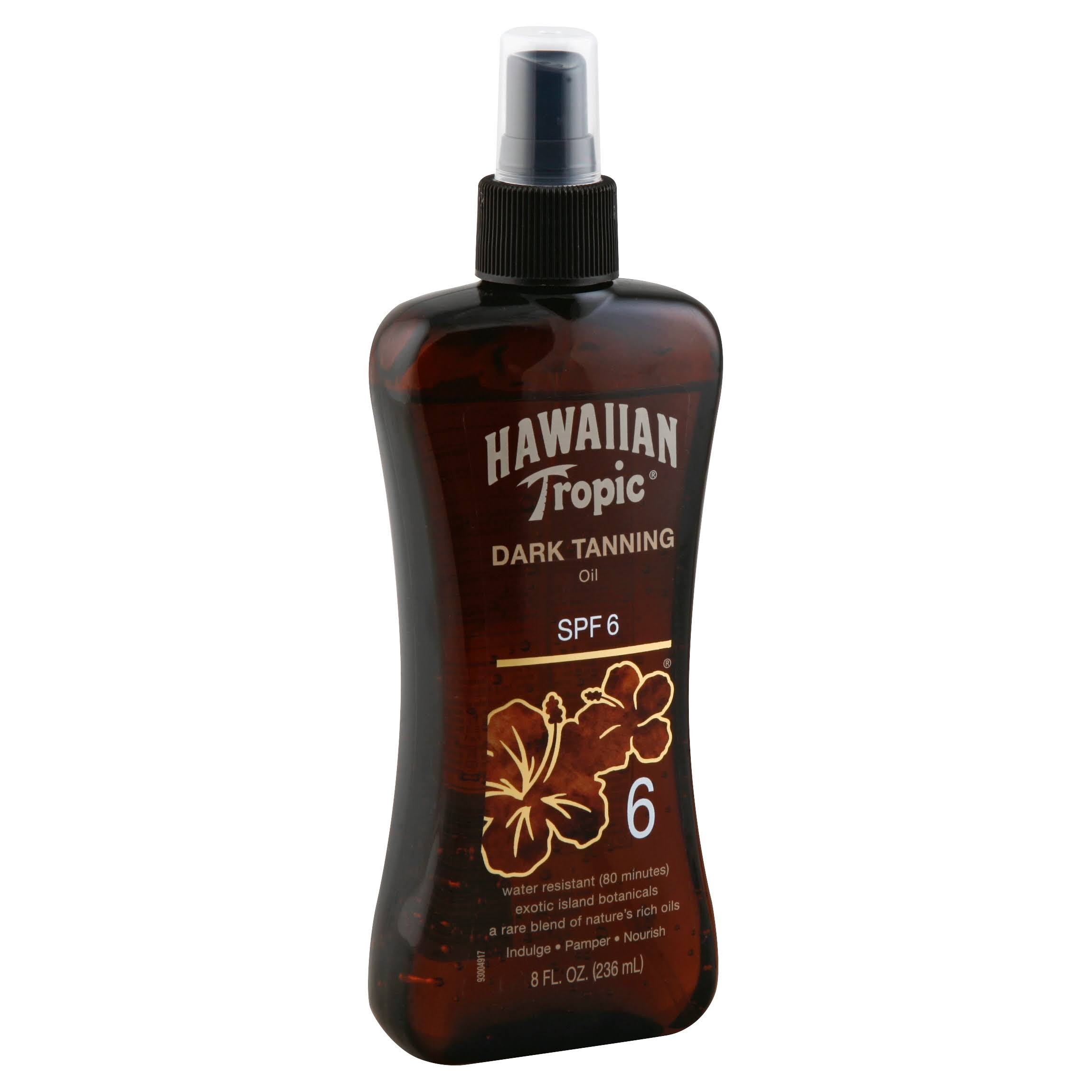 Hawaiian Tropic Dark Tanning Oil - SPF 6, 8oz