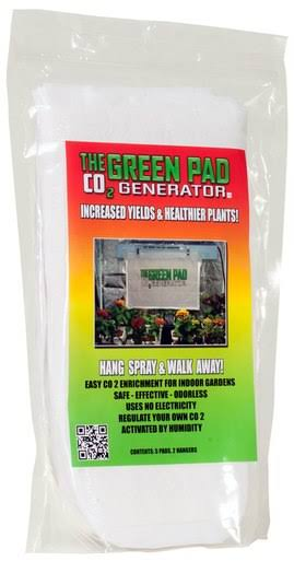 The Green Pad Co2 Generator - 5 Pack