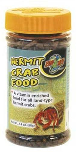 Zoo Med Hermit Crab Food - 2.4 Oz