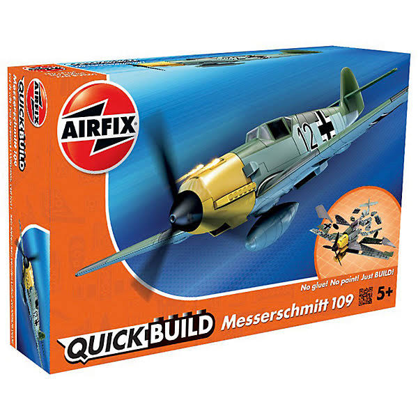 Airfix Quickbuild Plane Model Kitset - Messerschmitt 109