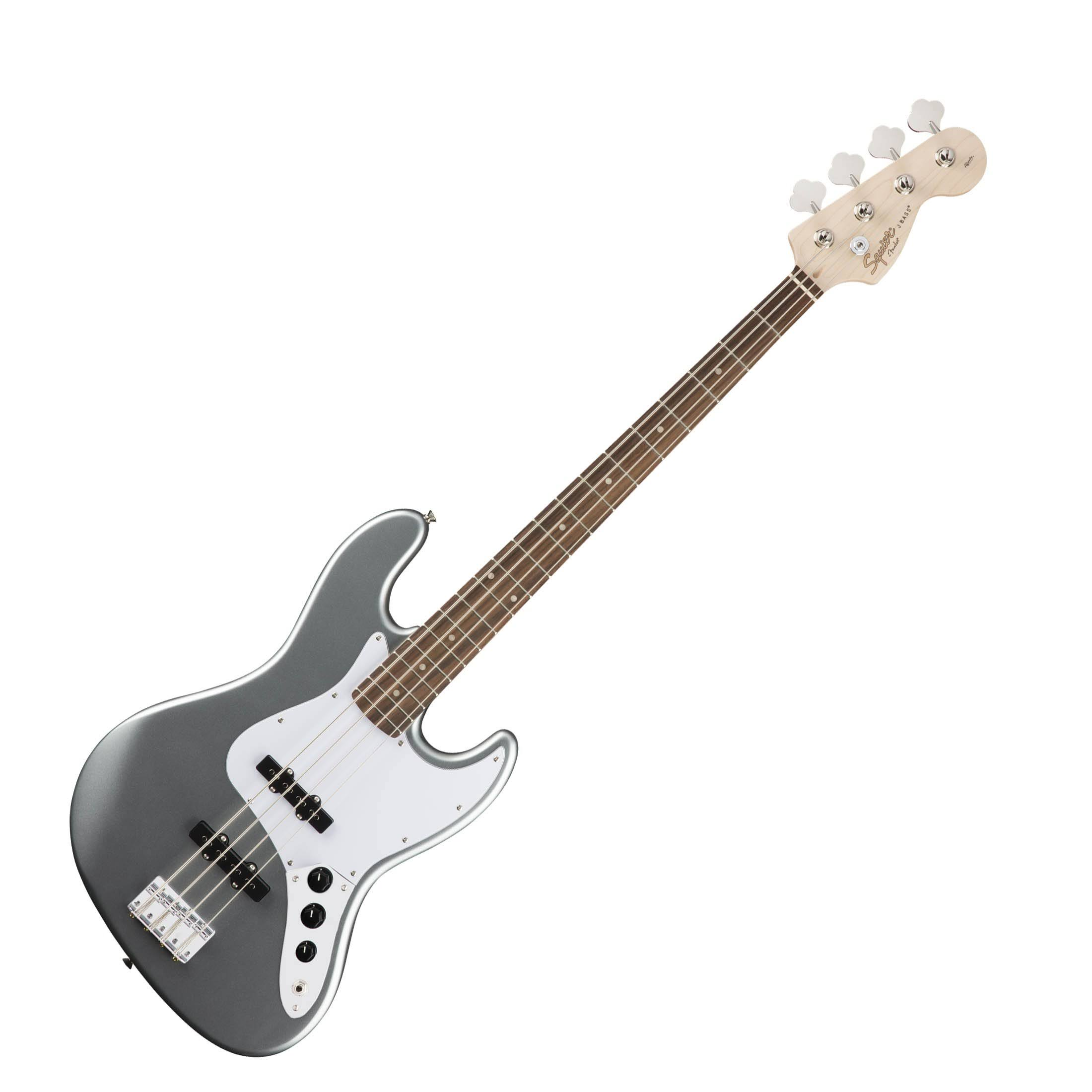 Squier Affinity Series Jazz Bass, Slick Silver