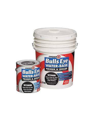 Zinsser Bullseye Water-Base Primer-Sealer & Stain Killer - White