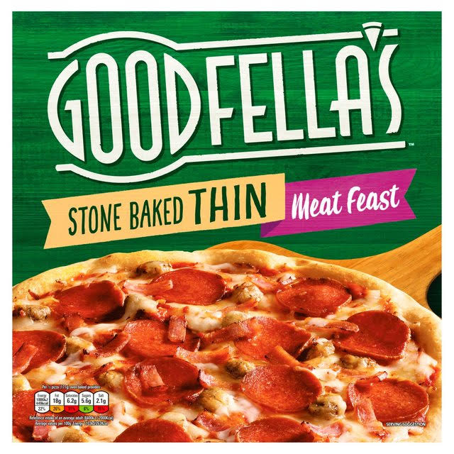 Goodfella's Stone Baked Thin Meat Feast Pizza - 353g