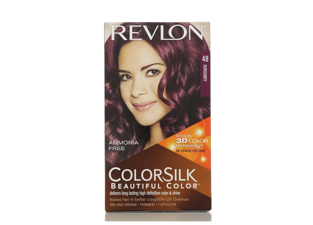 Revlon ColorSilk Beautiful Color Permanent Haircolor - 48 Burgundy