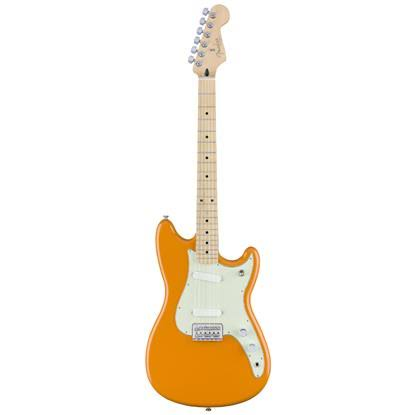 Duo Sonic Electric Guitar - Capri Orange, Maple Fingerboard