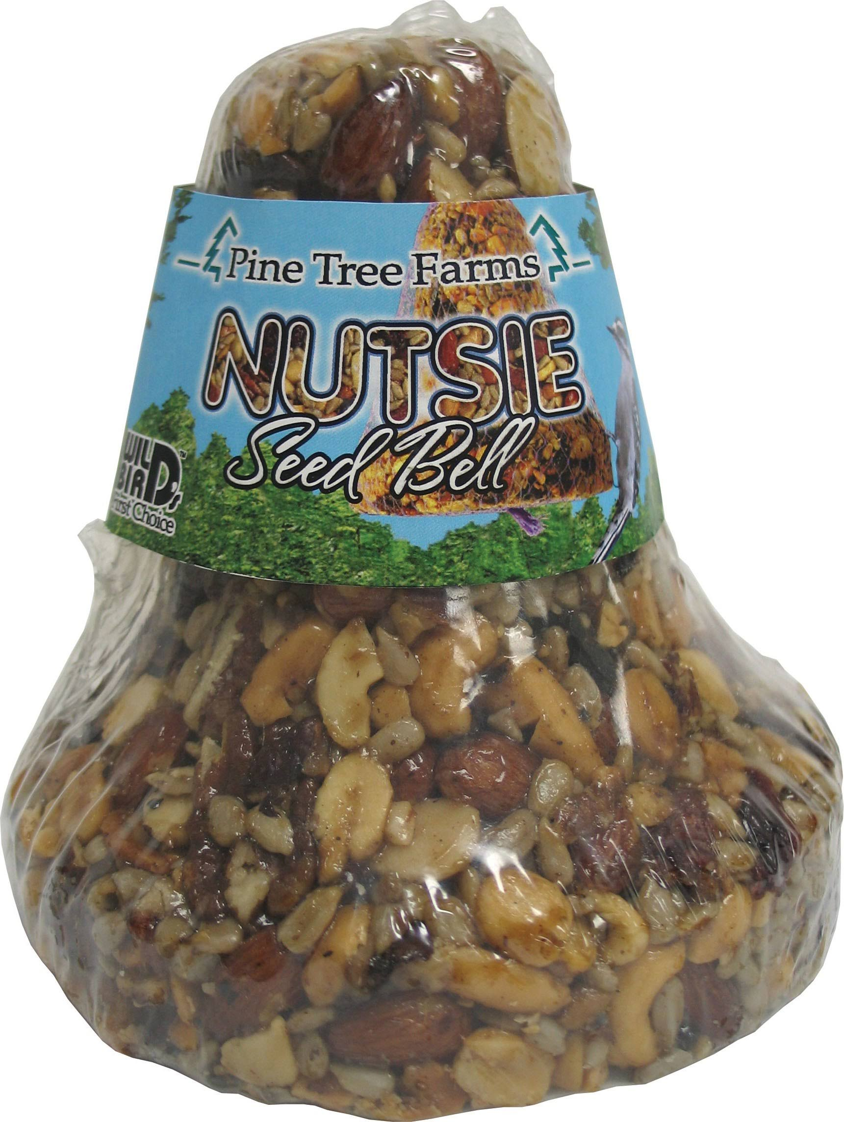 Pine Tree Nutsie Seed Bell Bird Food - 18oz