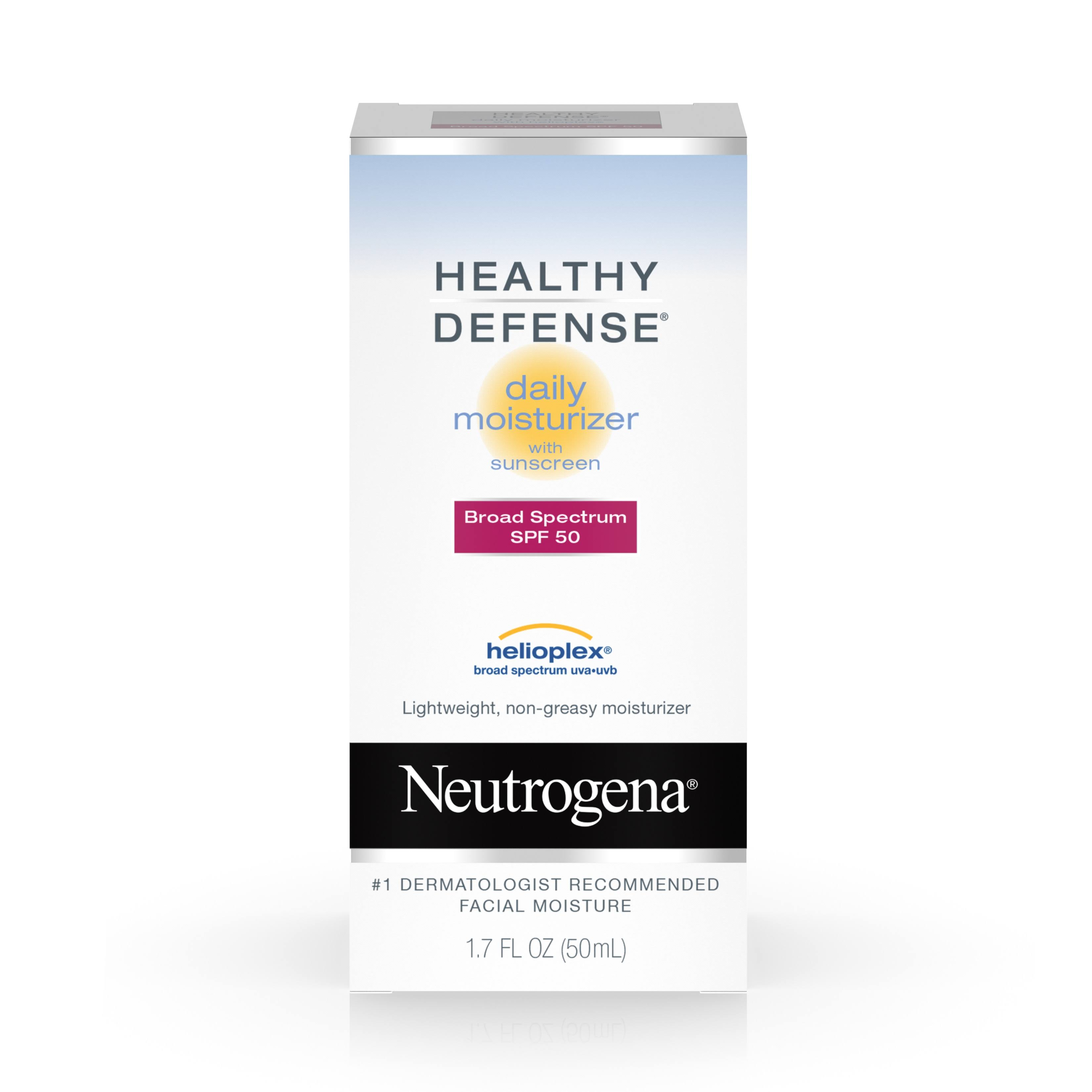 Neutrogena Healthy Defense Daily Moisturizer Broad Spectrum SPF 50