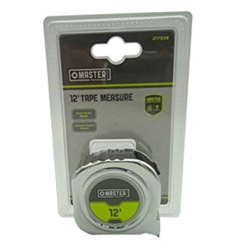 Apex Tool Group Asia 217926 12 ft Master Mechanic Tape Measure Chrome