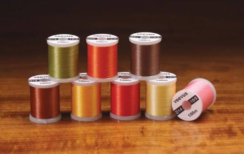 8/0 Veevus Fly Tying Thread - Assorted Colors - Black