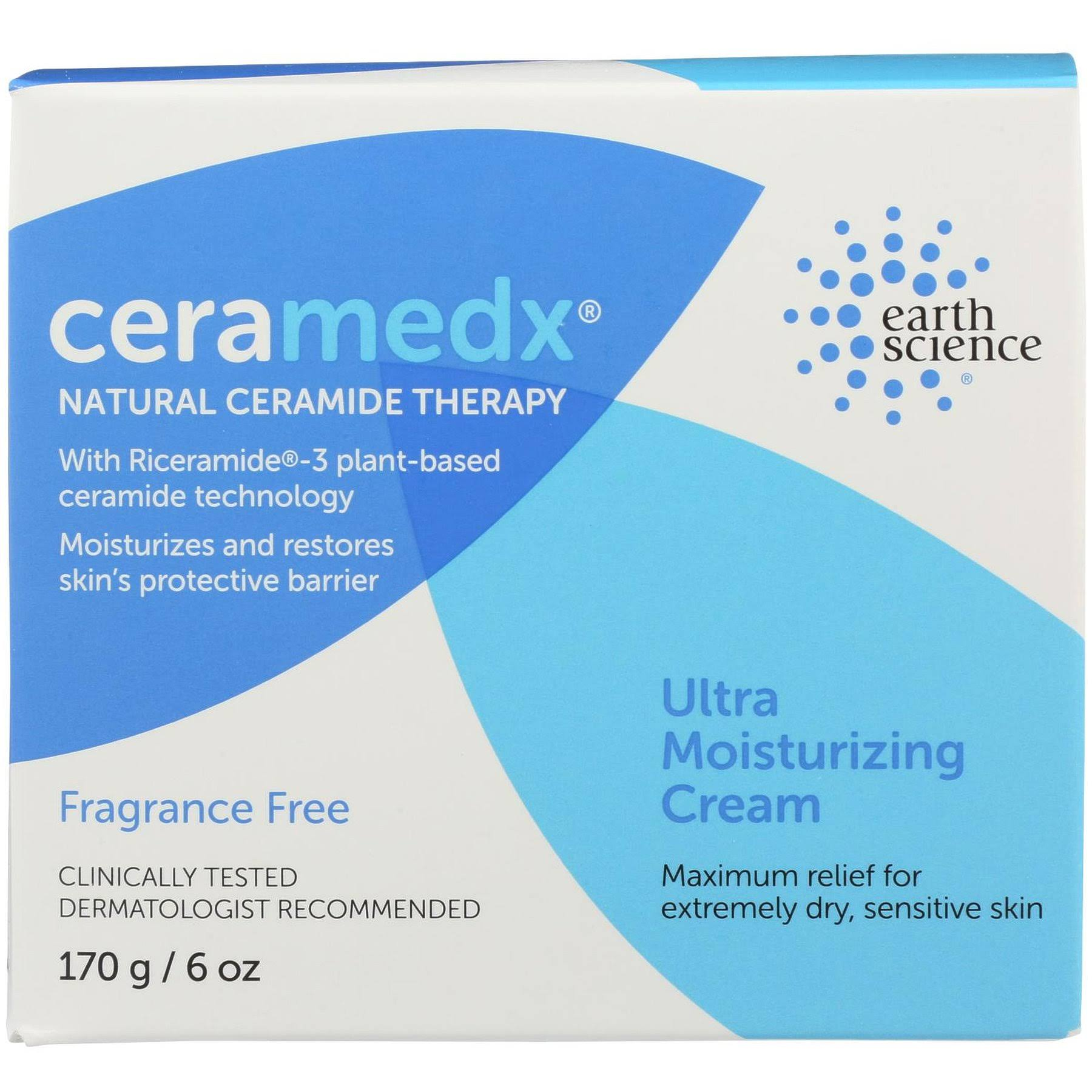 Ceramedx Fragrance Free Ultra Moisturizing Cream - 170g