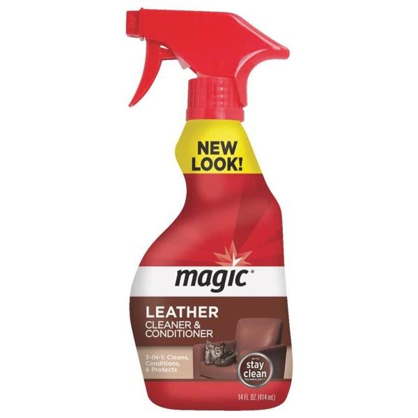 Magic Leather Cleaner and Conditioner - 14oz