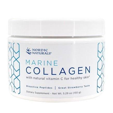 Nordic Naturals Marine Collagen - Strawberry, 5.29oz