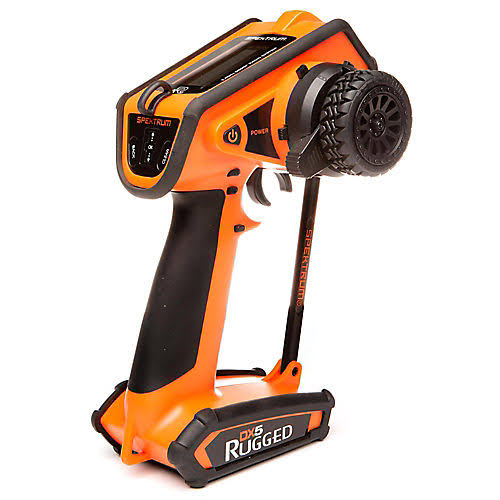 Spektrum DX5 Rugged DSMR TX Only - Orange