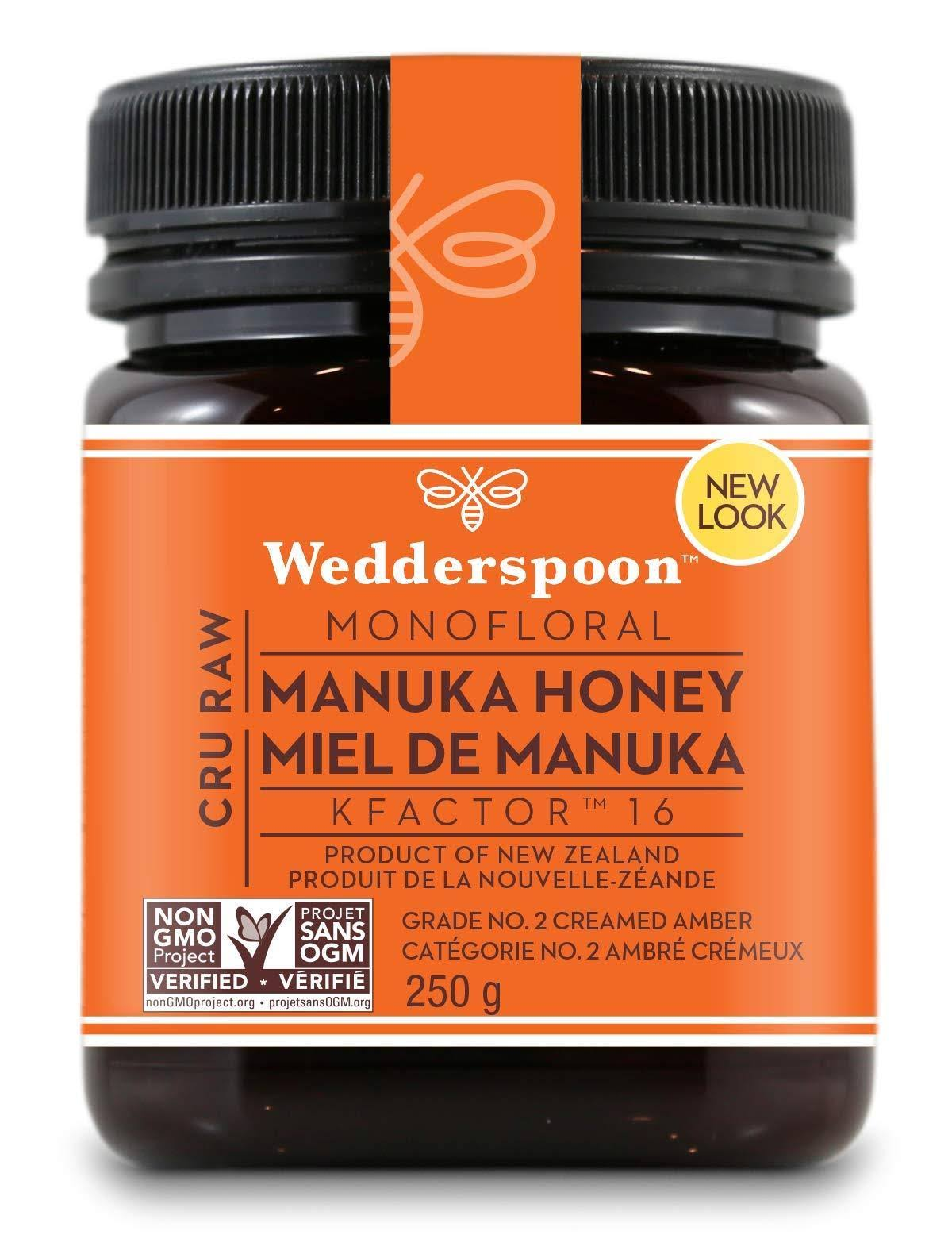 Wedderspoon 100 Raw Manuka Honey KFactor