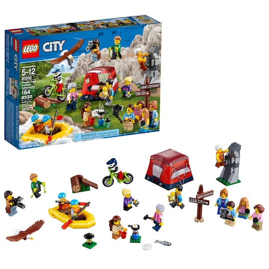 Lego City People Pack Outdoors Adventures Building Kit - 164pcs