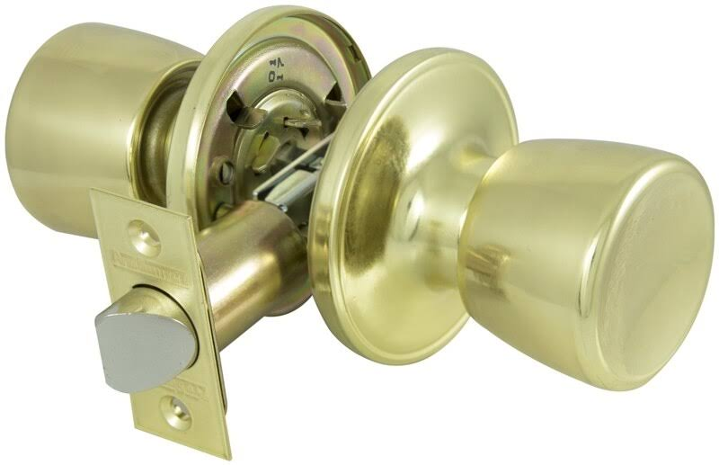 Prosource Passage Ts Knob - 6 Way, Polished Brass
