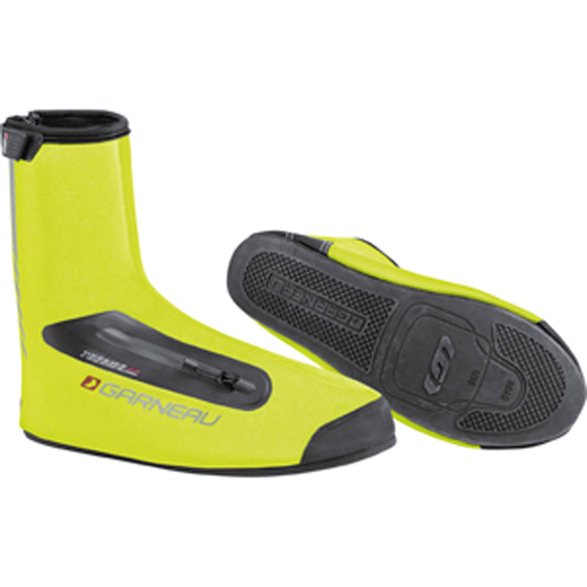 Louis Garneau Big Foot Shoe Cover Bright Yellow, M