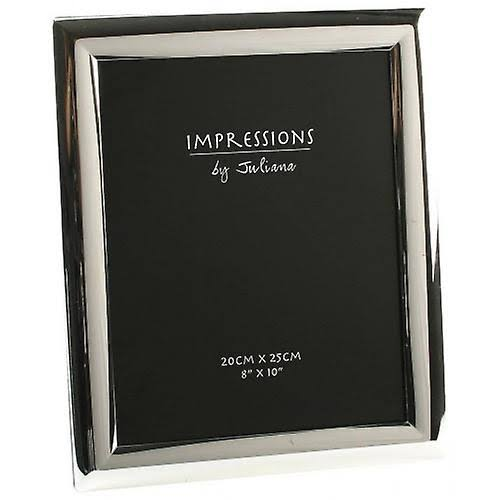 Impressions silverplated Curved Photo Frame - 8' x 10' - 3625S
