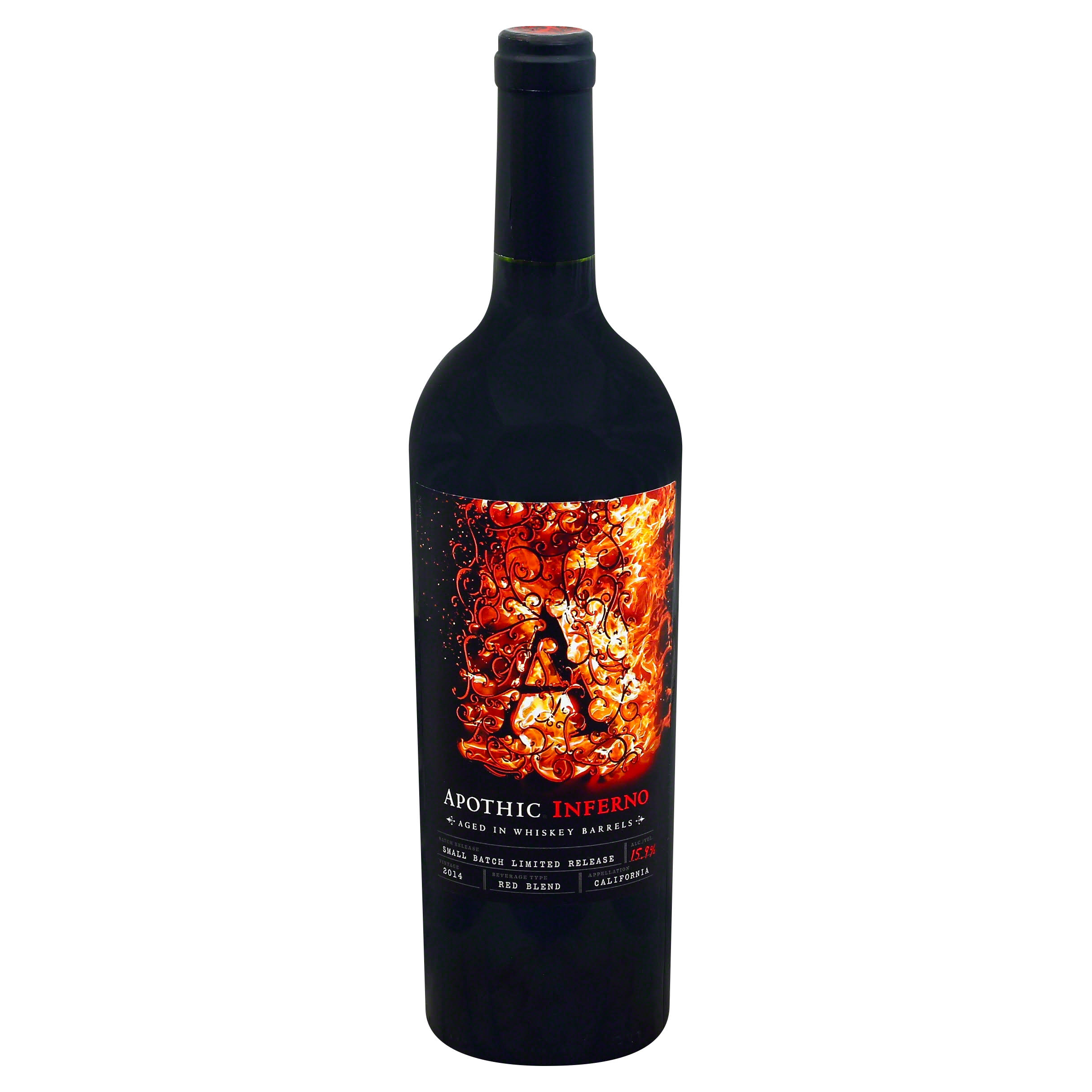 Apothic Red Blend, Inferno, California, 2014 - 750 ml