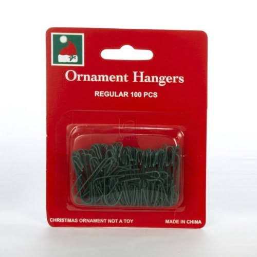 Kurt Adler Green Ornament Hooks - 100 Piece Box