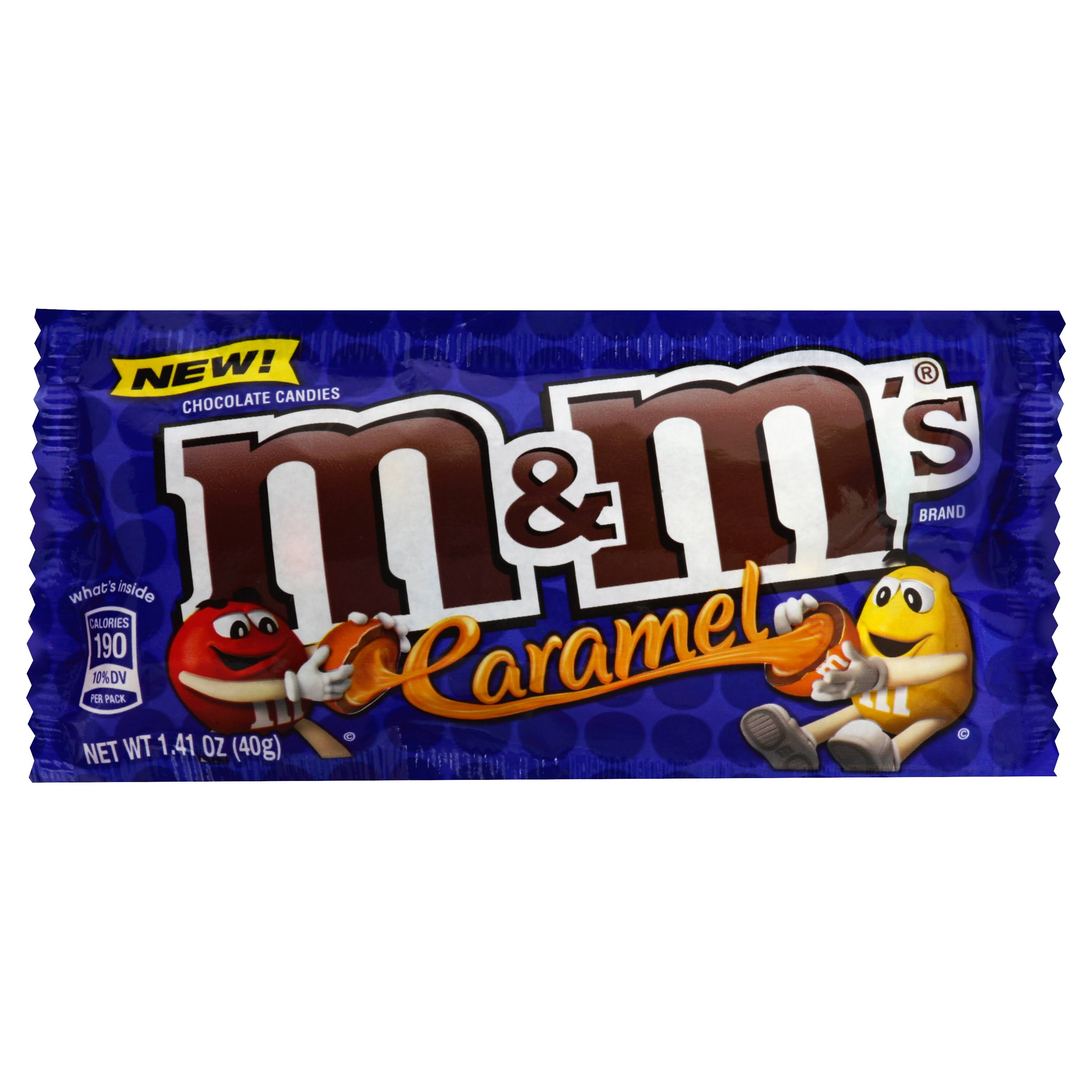 M&M's Caramel Chocolate Candies - 1.41oz
