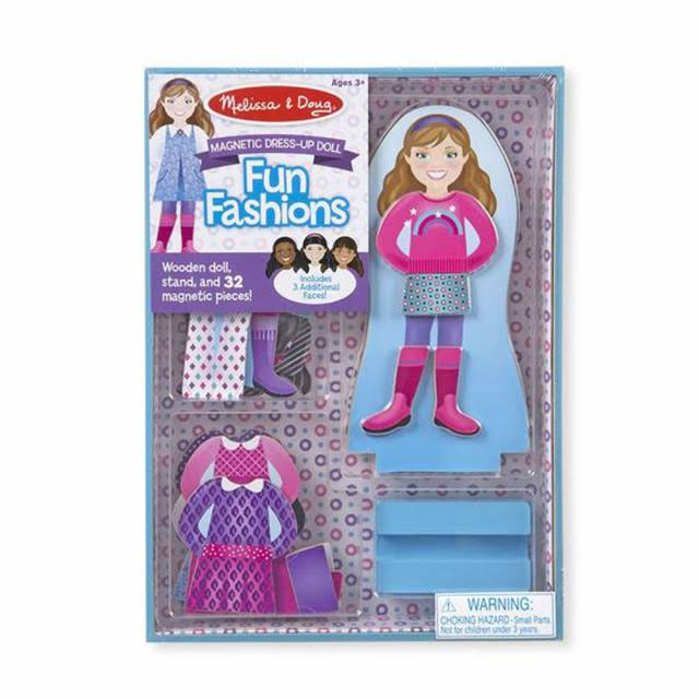 Melissa and Doug Magnetic Dress Up Set