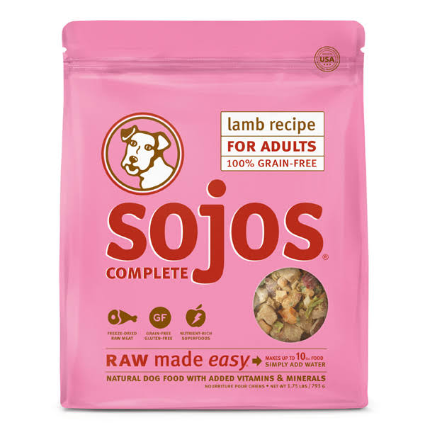 Sojos Complete Lamb Dog Food 1.75 lb