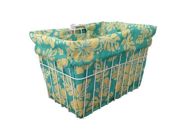 Cruiser Candy Reversible Bike Basket Liner - BL-MNTYLW