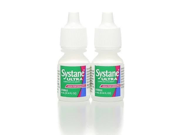 Alcon Systane Ultra Lubricant Eye Drops Pocket Pack - 2 Bottles, 4ml