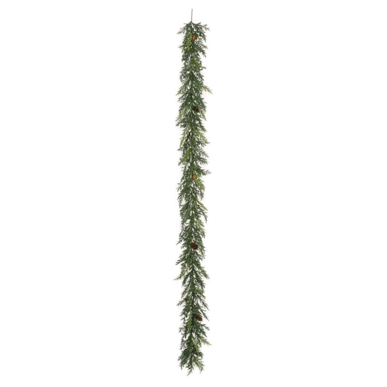 Sullivans 6 ft. Green Arborvitae Garland