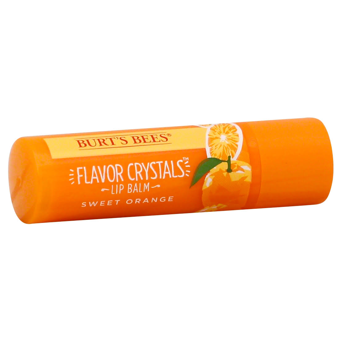 Burts Bees Flavor Crystals Lip Balm, Sweet Orange - 0.16 oz